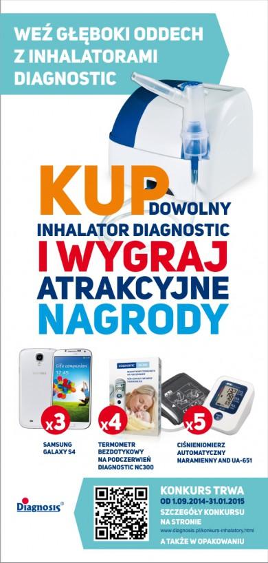 Kup dowolny inhalator diagnostic i wygraj atrakcyjne nagrody