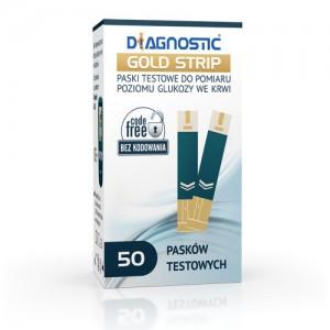 Paski Diagnostic GOLD Strip