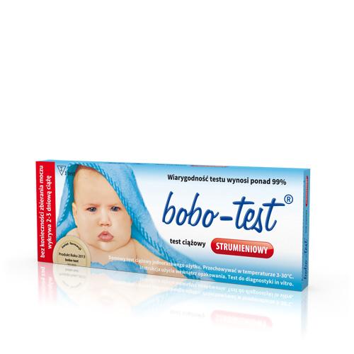Bobo-test ciążowy strumieniowy