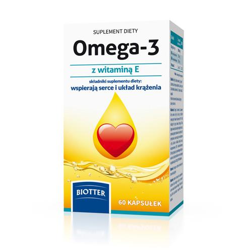 Omega-3 z witaminą E