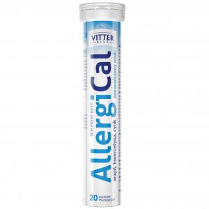 Wapń w tabletkach musujących - AllergiCal - Tabletki musujące