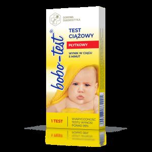 Bobo-test - płytkowy test ciążowy