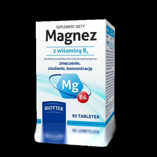 Magnez z witaminą B6