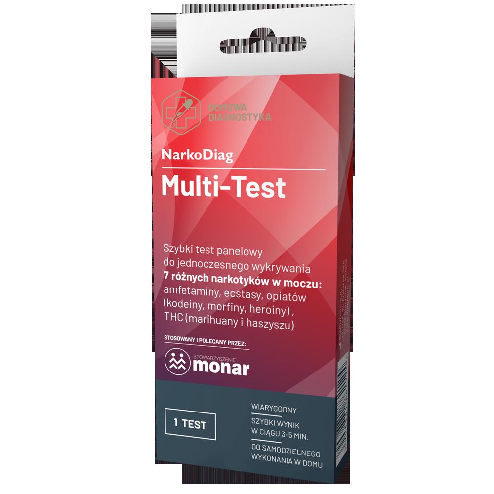 Test na wykrywanie narkotyków w moczu Multi-Test NarkoDiag