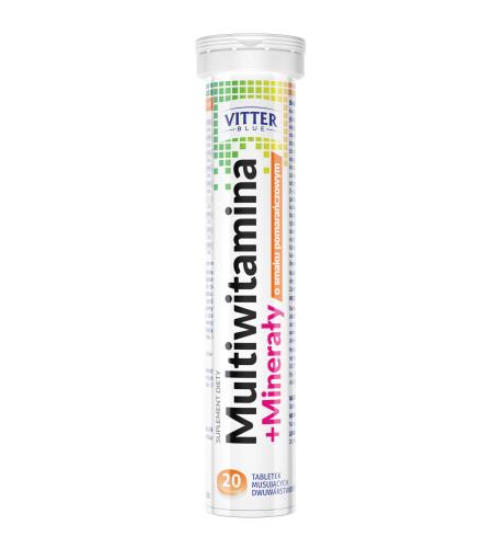 Multiwitamina + Minerały w tabletkach musujących - Vitter - tabletki