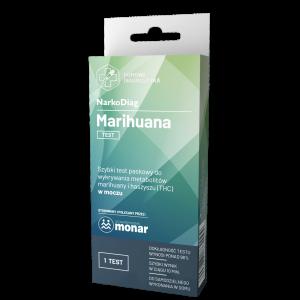 Test narkotykowy na marihuanę -THC - haszysz w moczu - NarkoDiag
