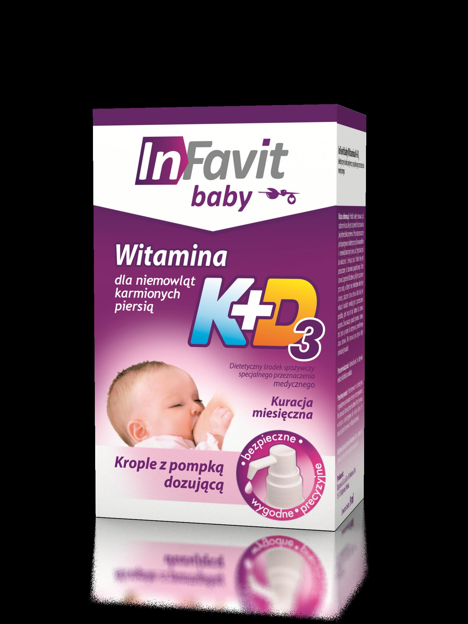 Infavit Baby K+D3