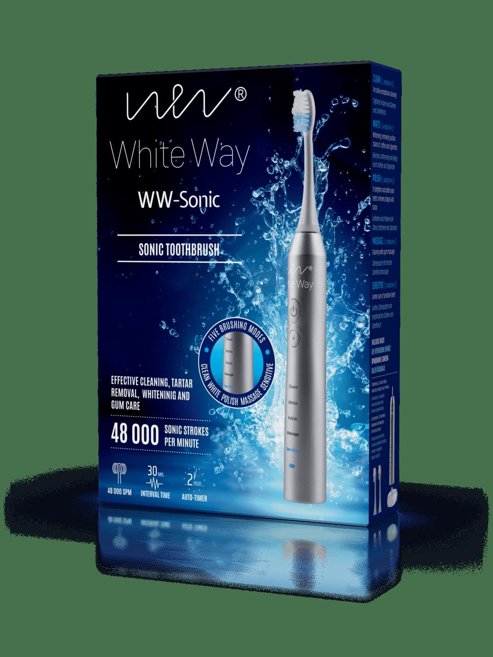 Szczoteczka soniczna do zębów WW-Sonic