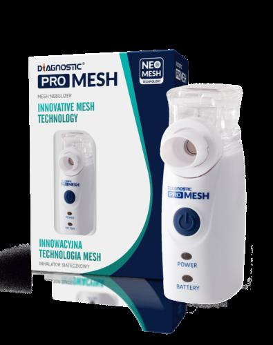 Inhalator Membranowy Kieszonkowy Diagnostic Pro Mesh