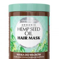 Maska do włosów  z organicznym olejem konopnym