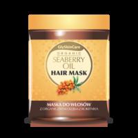 Maska do włosów z  organicznym olejem z rokitnika