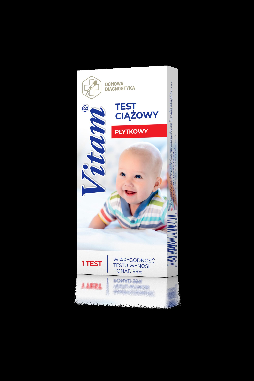 Vitam - płytkowy test ciążowy