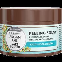 Peeling solny z organicznym olejem arganowym