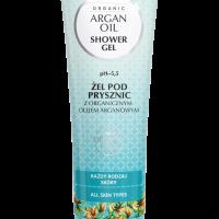 Żel pod prysznic z organicznym olejem arganowym