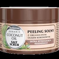 Peeling solny z organicznym olejem kokosowym