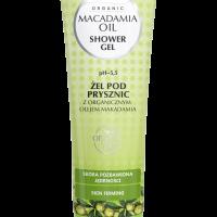 Żel pod prysznic z organicznym olejem makadamia