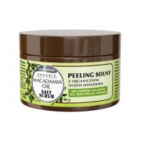 Peeling solny z organicznym olejem makadamia
