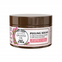 Peeling solny z organicznym olejem z opuncji figowej
