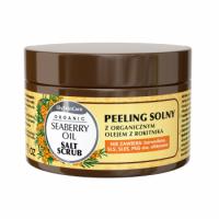Peeling solny z organicznym olejem z rokitnika