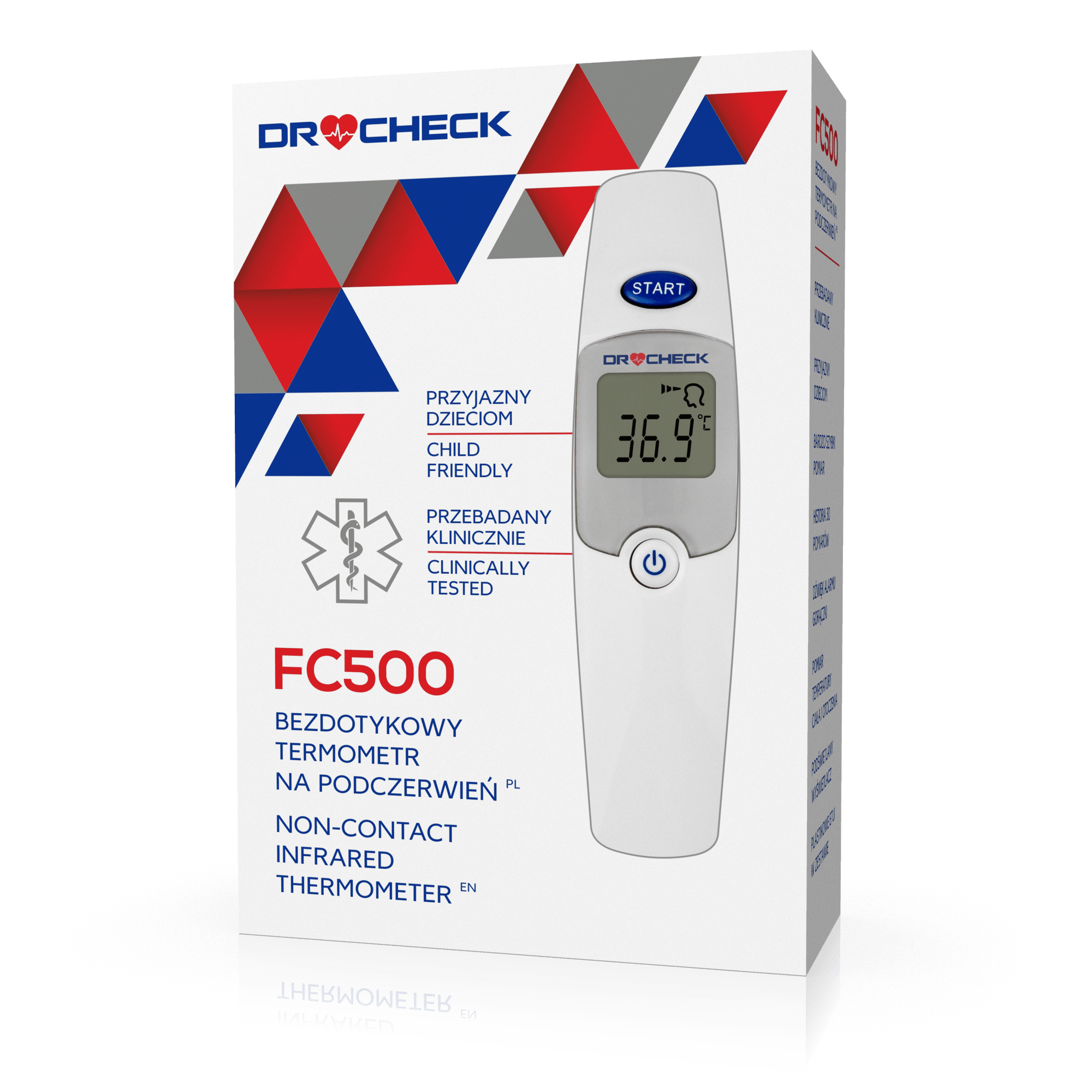 Termometr DR CHECK FC 500