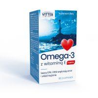 Omega-3 z witaminą E FORTE