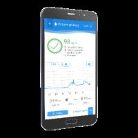 Aplikacja ISTEL HEALTH do glukometru ABRA SMART BT